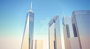 New World Trade Center from south perspective by WorldTradeCenter