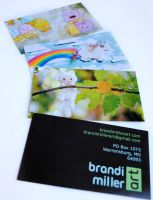 Brandi Miller Art Business Card by Strange-1