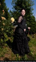 Victorian Roses Stock VII by DanielleFioreModel