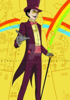 Warden of Superjail by xTangerineS