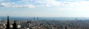 Barcelona Panorama by FlyingApplesaucer