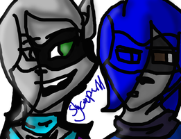 Dawn and Mag! :P by slycooper11