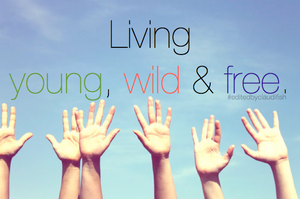 #2young,wild and free. by claudifish