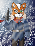 Artic Fox McCloud by Count-Toon