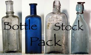 Bottles Stock Pack by XdemonicXstockX