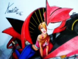 TFP FANCOMICS Knockout and Simone by alinneko