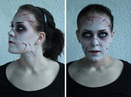 Hansel and Gretel : Witch hunters inspired makeup by MUA-Maano
