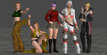 Retextured Models so far owo by SilverMoonCrystal