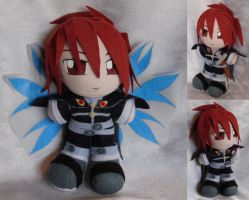 Commission, Mini Plushie Kratos Aurion by ThePlushieLady