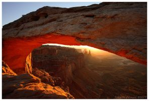 Mesa Arch Sunrise by Nate-Zeman