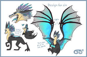 Character desing for sin by griffsnuff