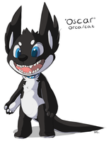 Oscar ref by HappyCrumble