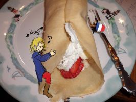 French Crepes lol no by CelloManLove