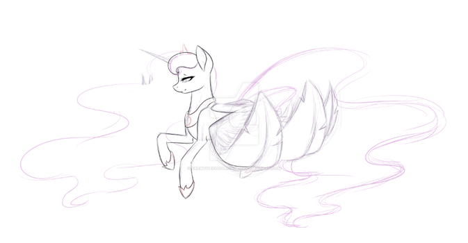 WIP - The Princess Of Night by TheMagicFantasy