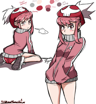Nonon color practice by ZeroMomentai