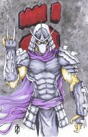 Shredder TMNT by ChrisOzFulton