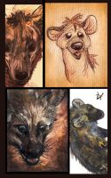 Hyena Dumb by Lupuna
