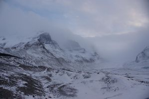 Athabasca Glacier by dseomn