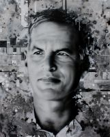 Norman Finkelstein by STiX2000