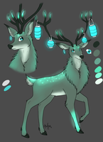Design Commission - Mammal - Deer by MizAmy