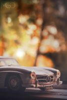 mercedes-benz 300-sl by TheEmGee