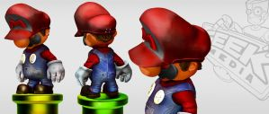 Mario y zbrush by charlesfrd