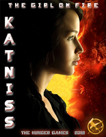 The Hunger Games Katniss Poster by Project---Shadow