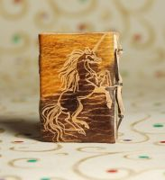 Mythical Unicorn Notebook by gildbookbinders