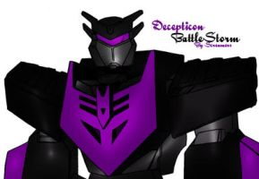 Decepticon BattleStorm by Scream01