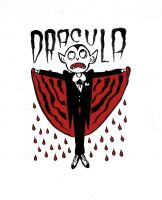 Dracula Doodle by TreyPatterson