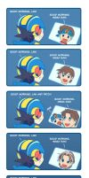 Mega Man Battle Network - Good Morning by suzuran