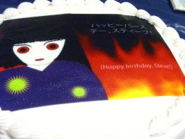 Hell Girl Birthday Cake by steverlfs