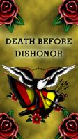 Eagle death before dishonor by smurfpunk