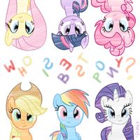 Dinky's: Who's Best Pony? by JackiePhantom13