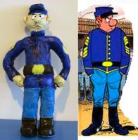 Sergeant Chesterfield clay model by theneopetmaster