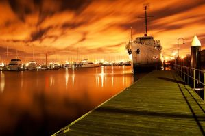 Williamstown Night by DanielleMiner
