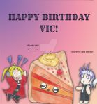 Vic Mignogna's birthday card thing :P by xPureMapleCanadianx