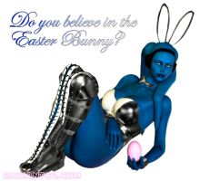 Believe in the Easter Bunny? by Giolon