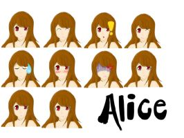 Alice RPG faceset by Fairybunny27