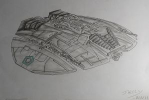 Cylon Raider by Creon25367
