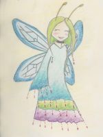 Dragonfly Faerie by alanat