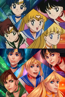 Screenshot Redraw: Sailor Moon by kitt2506