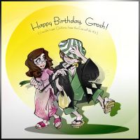 Happy BDay, Grosh by AoiNoKitsune
