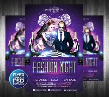 Fashion Night Flyer by Grandelelo
