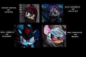 Sonic Character Voices by VVraith
