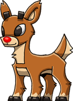 Rudolph the Red Nosed Reindeer by Hologramzx