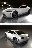 concept Front and rear by 3DEricDesign