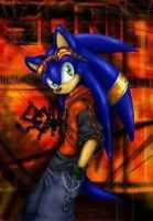 Same here -Gangster sonic by ColorfulCatCreep