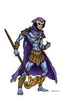 Skeletor by andrewchandler80