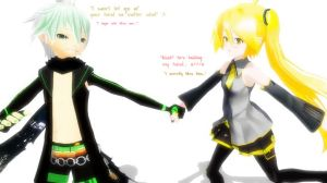 MMD Sweet Love by xinshin